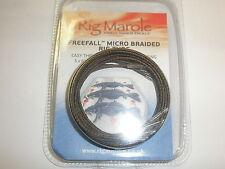 Rig Marole Freefall Micro Braided Tubing 600mm 5pk Brown / Black Carp fishing