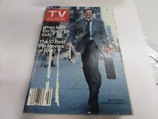 VINTAGE - TV GUIDE JAN 10TH 1981  - DAVID HARTMAN  - GMA - VERY GOOD