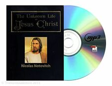 The Unknown Life of Jesus Christ MP3 CD + PDF eBook & AudioBook On CD