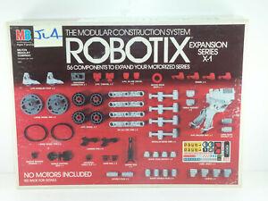 Milton Bradley Used 1986 Robotix Expansion Series Expansion Set X-1 - JL004