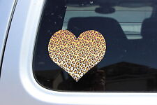 Leopard Heart Skin Sticker Car Love Flats Cute Pretty jewlery cheap best art bow