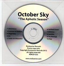 (DQ180) October Sky, The Aphotic Season - 2012 DJ CD