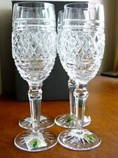 Waterford Crystal CASTLETOWN Champagne Flutes SET / 4 - NEW / BOX!