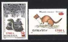 Romania 2000 Snake/Animals/Reptiles 2v o/p set (n27264)