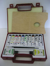 Ferrario Van Dyck Oil Color Paint Set Artist Quality with Plastic Carrying box