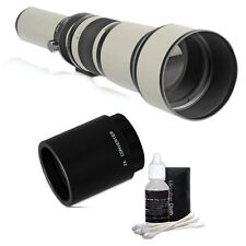 650-1300mm Telephoto Lens w/ 2x Teleconverter =650-2600mm for Nikon DSLR Camera