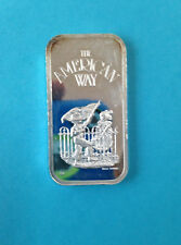 1974 The Silver Mint Pass in Review The American Way TSM-52 Silver Art Bar P0928
