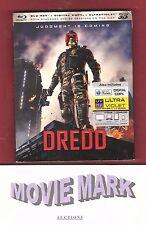 DREDD 2012 (Lionsgate) Single Disc Blu-ray 3D/2D Karl Urban Olivia Thirlby Judge