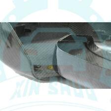 2* Carbon  Fiber Rear View Mirror cover For Maserati Ghibli