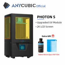 ANYCUBIC SLA 3D Drucker Photon S UV LCD mit Frei 500ml UV Resin und 2 x FEP Film