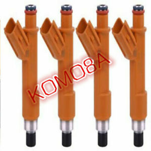 4X Fuel Injectors For Lexus HS250h Hybrid Toyota Camry l4 23250-28060