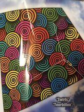 """X-Kites ColorMax Nylon Diamond Kite 25"""" Ready To Fly SWIRLS"""