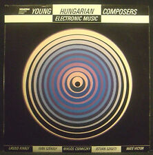 LP V.A. HUNGARIAN ELECTRONIC MUSIC - young hungarian composers