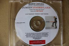 Justin Timberlake Until The End of Time (feat Beyonce) 1Track Promo Polish Rare