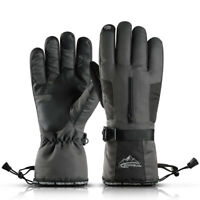 NEW Waterproof Fleece Ski Gloves Winter Warm Snowboard Thermal Motorcycle Cycle