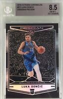 Luka Doncic 2018-19 Panini Chronicles Obsidian Preview Rookie BGS 8.5