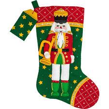 """Regalos tréboles Bucilla irlandés Santa ~ 18 /""""De Fieltro De Navidad Kit De Siembra # 85427"""