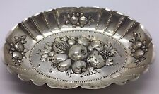 ANTIQUE GERMAN 800 SILVER ORNATE WITH FRUITS BOWL