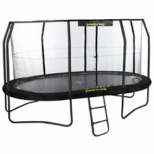 13ft x 9ft Jumpking OvalPOD Oval Trampoline with Enclosure (JPO913G17)