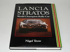 LANCIA STRATOS WORLD CHAMPION RALLY CAR ( Nigel Trow 1990)