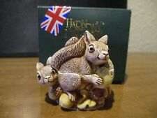 Harmony Kingdom SIGNORI DELLE FOGLIE Scoiattoli CANADESE EXC UK MADE FE 750 RARA