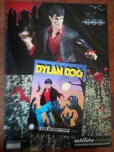 Poster di DYLAN DOG  a colori prova di stampa Infinite Statue