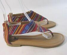 Multi summer cool sandal ankle strap  SIZE   6