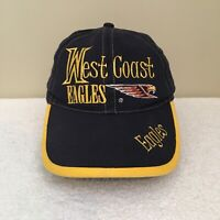 West Coast Eagles Old Logo AFL Football Mens Baseball Cap Hat