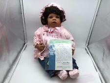 Monika Levenig Vinyl Puppe Smilla 55 cm. Top Zustand