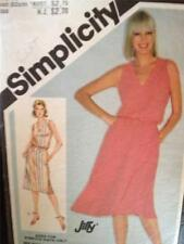Simplicity Sewing Pattern 9895 Ladies / Misses Dress Slim/Full Skirt Size 14 Cut
