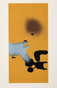 Victor Pasmore - signed and numbered colour screenprint 1982