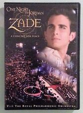 zade ONE NIGHT IN JORDAN A CONCERT FOR PEACE    DVD  includes insert