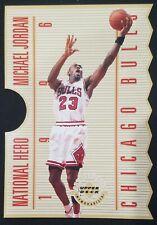 1996 Upper Deck National Hero Michael Jordan #NH1 Jumbo Die-Cut #/5000