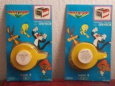 2 films Cinevisor Super 8 color Mupy 11-12 neufs blisters Yosemite Sam Vintage
