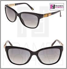 e8df5910b3a4 GUCCI Cat Eye GG3672S Black Gold BAMBOO Bio Based Sunglasses 3672 Gradient  Women