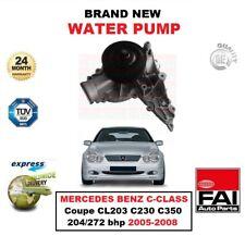 Wasserpumpe für Mercedes Benz C-Klasse Coupe CL203 C230 C350 204/272 Bhp
