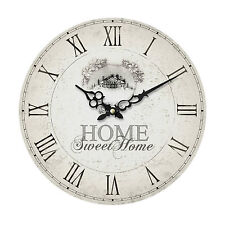34cm Home Decor Classic Wall Clock Traditional Style Roman Numeral Quartz