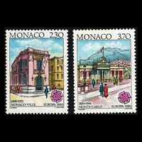 Monaco 1990 - EUROPA Stamps - Post Offices - Sc 1716/7 MNH