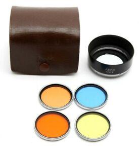 Kenko Series 7 Hood W/ 40mm Filter Set (Yellow, Red, Blue, Orange ) #M1115