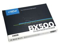 Crucial Internal SSD BX500 240GB 3D NAND SATA III 2.5'' Solid State Drive-UK