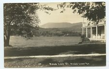 Rppc Bread Loaf Mountain Vermont