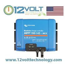 Victron Blue Solar MPPT 150/45 - MC4 45 Amp Solar Charge Controller Regulator