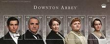 Palau 2014 MNH Downton Abbey Carson Thomas Barrow Patmore Daisy 5v M/S I Stamps