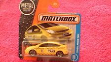 Matchbox (UK Card) - 2017 - #15 Toyota Prius Taxi - Yellow