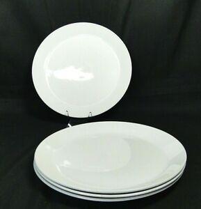 """Johnson Bros England Ironstone Snowhite Dinner Plate 10"""""""