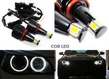 White COB LED H8 For BMW Angel Eyes Halo Ring Light 20W E90 E92 E60 E63 E70 E89