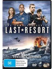 Last Resort : Season 1 (DVD, 2013, 3-Disc Set)