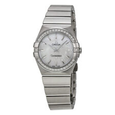 Omega Constellation White Mother of Pearl Dial  Ladies Watch