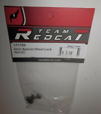 Team Redcat 4mm Special Wheel Lock Nut (4) #111160 NIP