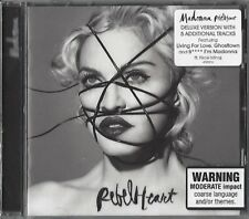 Madonna/Rebel Heart-Deluxe Edition * NEW CD * NUOVO *